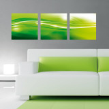 White Stream Wall Decal