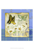 Papillon Plaid I Posters by Jane Maday