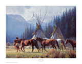 A New Day Print by Martin Grelle
