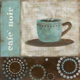 Café Noir Print by Carol Robinson
