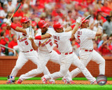 St.Louis Cardinals - Albert Pujols 2011 Multi Exposure Photo