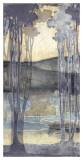 Embellished Nouveau Landscape I Prints by Jennifer Goldberger