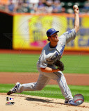 Los Angeles Dodgers - Clayton Kershaw 2011 Action Photo