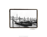 Waterways of Venice XV Premium Giclee Print by Laura Denardo