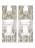 2-Up Shabby-Chic Bath II Posters
