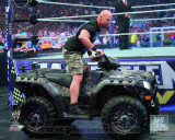 World Wrestling Entertainment - Stone Cold Steve Austin WrestleMania XXVII Action Photo