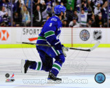 Vancouver Canucks - Kevin Bieksa - Winning OT Goal, Game 5 Western Conference 2011 Finals Photo