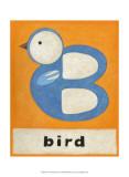 B is for Bird Kunst af Chariklia Zarris
