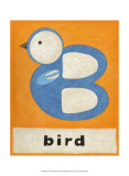 B is for Bird Posters by Chariklia Zarris