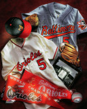 Baltimore Orioles - Baltimore Orioles Cooperstown Collage Photographie