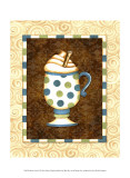 Mocha Latte II Print by Sydney Wright