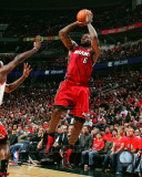 Miami Heat - LeBron James 2010-11 Playoff Action Photo