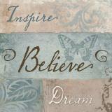 Inspiration I Posters by Elizabeth Medley