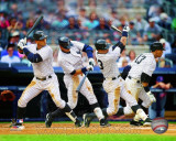 New York Yankees - Alex Rodriguez 2011 Multi Exposure Photo
