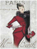 Paris Style Femme Posters by Chad Barrett
