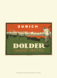 Vintage Travel Label VIII Posters