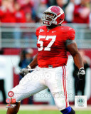University of Alabama - Marcell Dareus University of Alabama Crimson Tide 2009 Action Photo