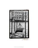 Waterways of Venice III Premium Giclee Print by Laura Denardo