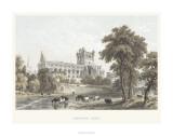 Jedburgh Abbey Giclee Print