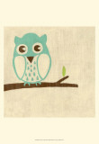 Best Friends - Owl Print by Chariklia Zarris
