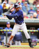 Tampa Bay Rays - B.J. Upton 2011 Action Photo