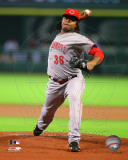 Cincinnati Reds - Edinson Volquez 2011 Action Photo