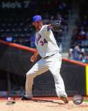 New York Mets - Mike Pelfrey 2011 Action Photo
