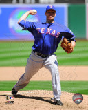 Texas Rangers - Colby Lewis 2011 Action Photo