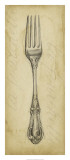 Antique Fork Print by Ethan Harper