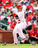 St.Louis Cardinals - Yadier Molina 2011 Action Photographie