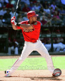 Arizona Diamondbacks - Chris B. Young 2011 Action Photographie