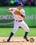Texas Rangers - Ian Kinsler 2011 Action Photo