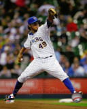 Milwaukee Brewers - Yovani Gallardo 2011 Action Photo