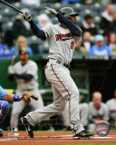 Minnesota Twins - Denard Span 2011 Action Photo