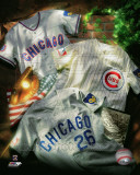 Chicago Cubs - Chicago Cubs Cooperstown Collage Photo