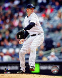 New York Yankees - A.J. Burnett 2011 Action Photo
