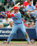 Philadelphia Phillies - Carlos Ruiz 2011 Action Photo
