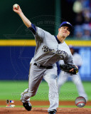 Milwaukee Brewers - Zack Greinke 2011 Action Photo