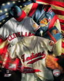 Cleveland Indians - Cleveland Indians Cooperstown Collage Photo