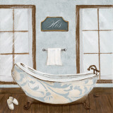Villa Bath II Prints by Gina Ritter