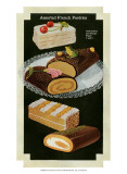 French Pastries I Prints