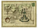 Small Postcard from the Villa I Plakater af Jennifer Goldberger