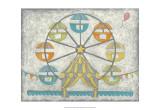Carnival Ferris Wheel Posters by Chariklia Zarris