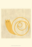 Best Friends - Snail Print by Chariklia Zarris