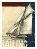 Vintage Tradewinds I Giclee Print by Ethan Harper