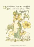 Shakespeare's Garden IX (Marigold) Láminas por Crane, Walter