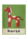 H is for Horse Posters by Chariklia Zarris