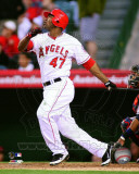 Los Angeles Angels - Howie Kendrick 2011 Action Photo