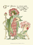 Shakespeare's Garden V (Peony) Poster by Walter Crane