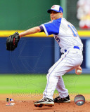 Atlanta Braves - Tim Hudson 2011 Action Photo